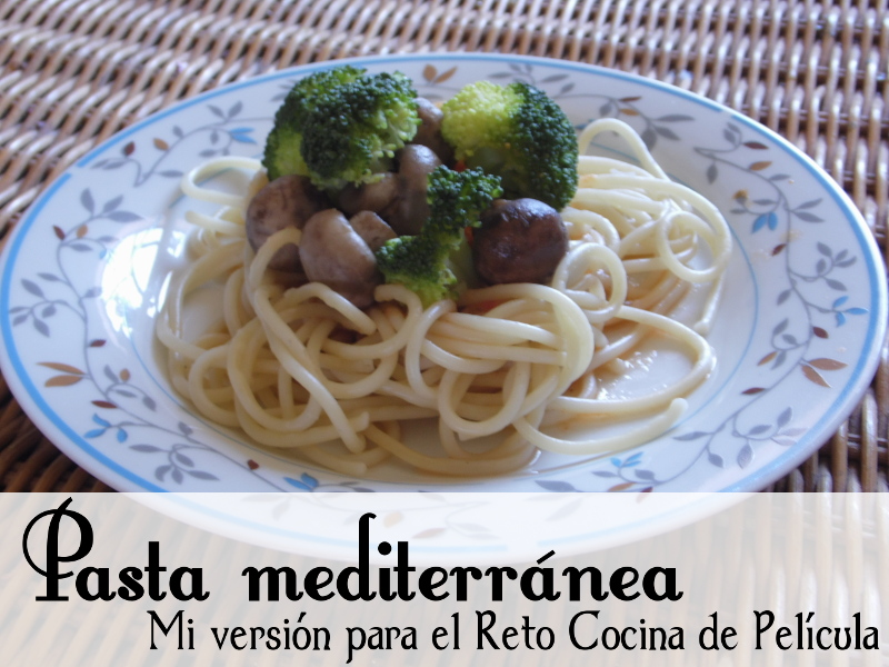 Receta de pasta mediterránea