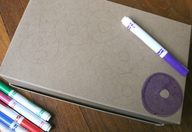 color sorting DIY box