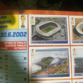 álbum da Copa 2002 - Yokohama