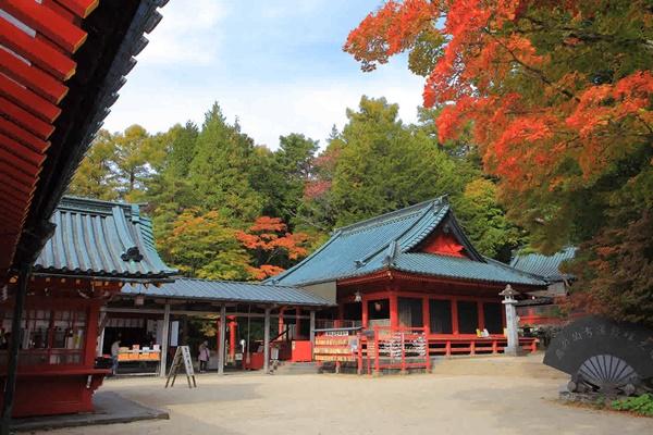 ศาลเจ้าฟูตาราซัน (Futarasan Shrine)