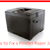 How to Fix a Printer Paper Jam