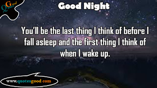 Good Night Quotes and Images