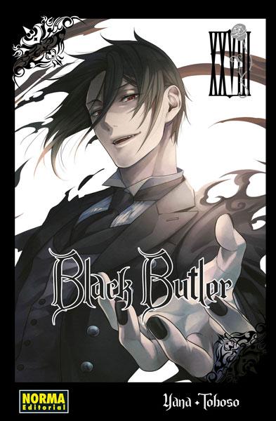 Reseña de Black Butler (Kuroshitsuji 黒執事) vol.28 de Yana Toboso - Norma Editorial