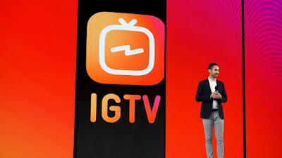 Woww, Baru Saja Dirilis, IGTV Langsung Booming