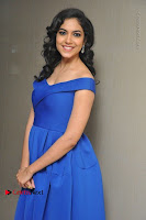 Actress Ritu Varma Pos in Blue Short Dress at Keshava Telugu Movie Audio Launch .COM 0030.jpg