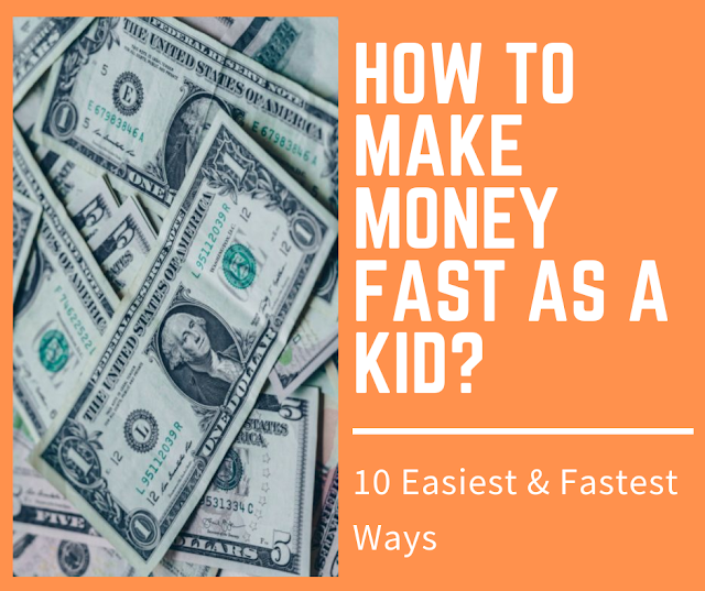 10 Easiest Ways to Make Money for Kids