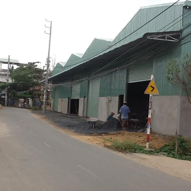 Cho thuê gấp 3 nhà xưởng 600m2, 1200m2 và 1800m2 phường An Phú Đông Quận 12