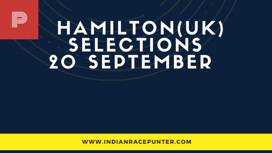 Hamilton Park UK Race Selections 20 September