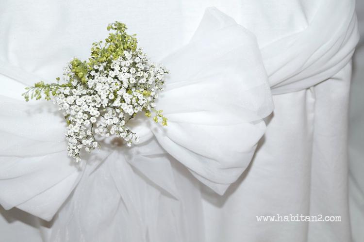 Decoración floral en la boda de M&H by Habitan2 | Deco floral low cost para ceremonia en la iglesia