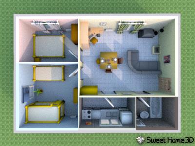 Capsulanet sweet home 3d multilenguaje y multiplataforma for Crea casa 3d