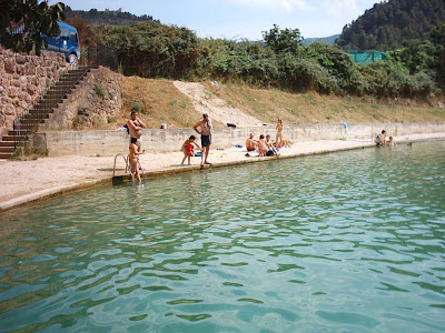 azud, assut, Matarraña, Matarranya, Beceite, Beseit, agua fresca 2