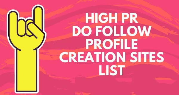 Top DoFollow High DA free Profile Creation Sites List -- SEOKINGTOOLS.COM