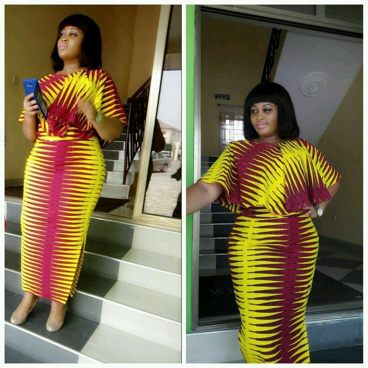 Ladies: See 45 Pictures Of Latest Ankara Styles 2018