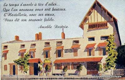 Anciennes Publicités d'Auvergne en couleurs