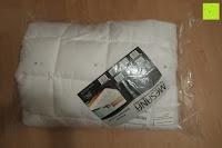 Verpackung: MESANA Premium Matratzen-Schoner | Größe: 140x200 cm, Höhe: 27cm | weiß aus Soft Touch Microfaser | 100% Polyester | Matratzen-Auflage auch für Ihr Boxspring-Bett und Wasserbett | Unter-Bett