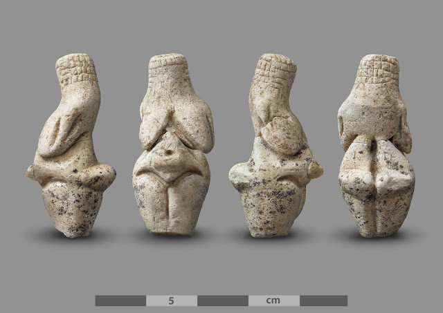 An exceptional Gravettian 'Venus' discovered in Amiens