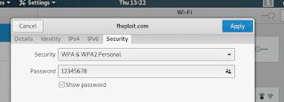 melihat password wifi dengan linux