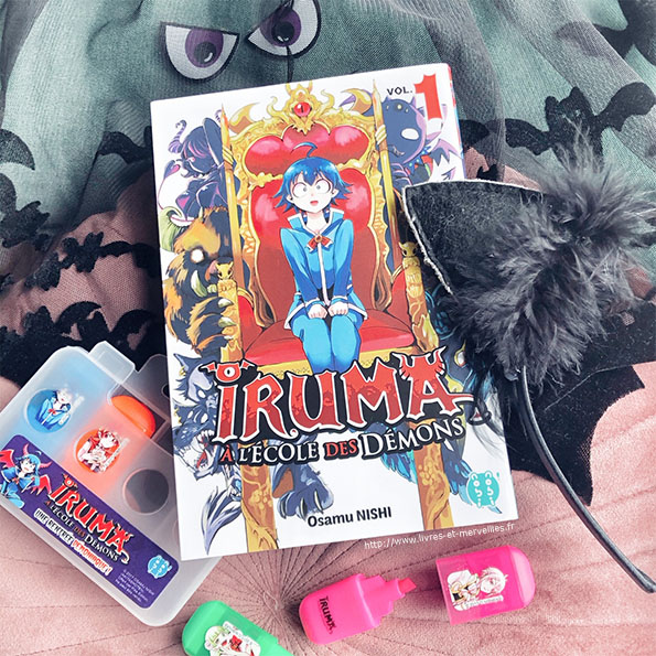 Iruma à l'école des démons - nobi nobi !