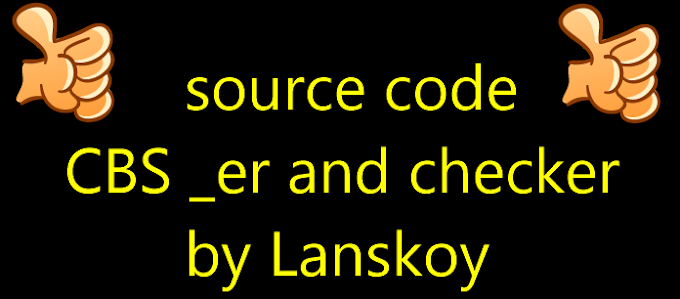source code CBS _er and checker by Lanskoy