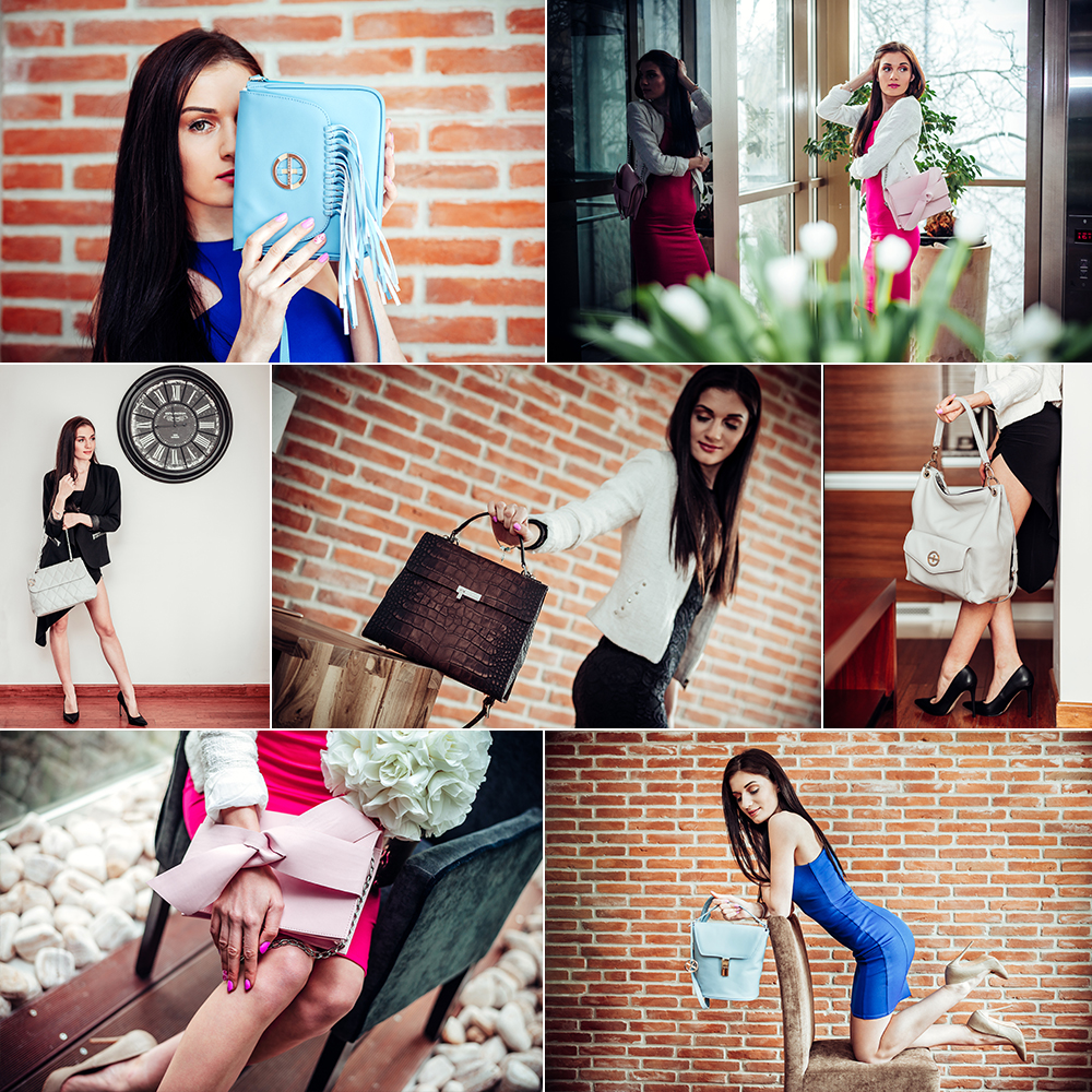 Sesja produktowa - torebki skórzane - Sagan | Fotograf Lublin