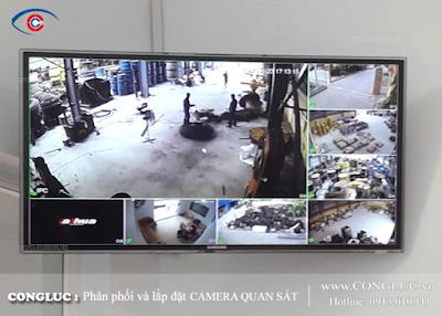 Lắp camera giám sát ở phường Hàng Kênh