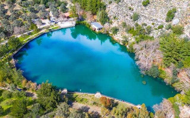 Λίμνη Ζαρού: Η υδάτινη αγκαλιά – «καθρέφτης» του ορεινού όγκου του Ψηλορείτη
