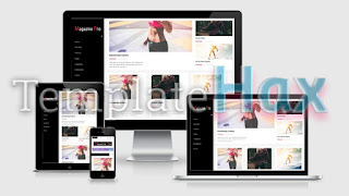 Download Magazine Pro Blogger Template