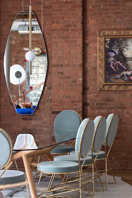 Дизайн-проекты. Эклектичный лофт в Манхэттене