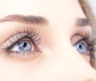 Massage under eyes