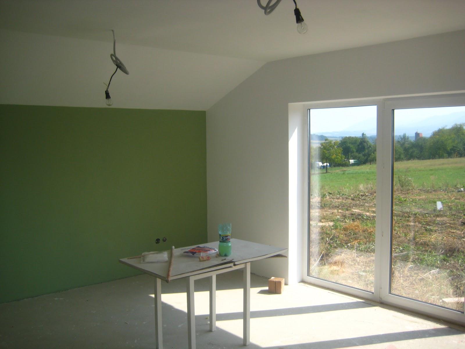 Groene Wand Woonkamer : Slaapkamer groene wand muur kleur one of the best home design
