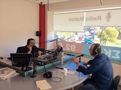"""Ο επικεφαλής της """"Νέας Εποχής"""" για τον Δήμο Κατερίνης, Νίκος Μακρίδης στην ραδιοφωνική εκπομπή """"Η ΩΡΑ ΤΗΣ ΑΛΗΘΕΙΑΣ"""" με τον Μιχάλη Κανταρτζή στον ΣΚΑΪ 92,6. (ΒΙΝΤΕΟ)"""