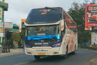 Foto Bus Murni Jaya E217