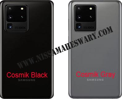 Warna Varian Samsung Galaxy S20 Ultra Review