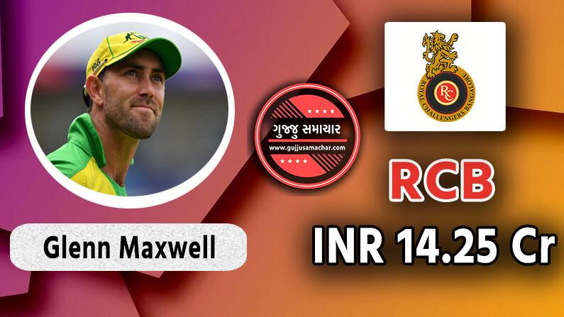 Glenn Maxwell to RCB
