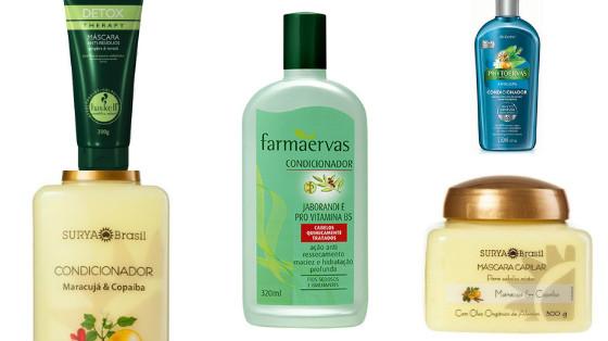 produtos cabelos oleosos mistos low poo