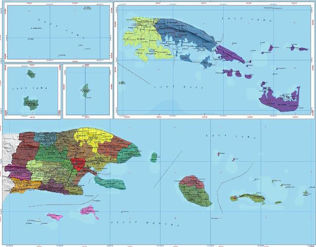 Peta Kabupaten Sumenep