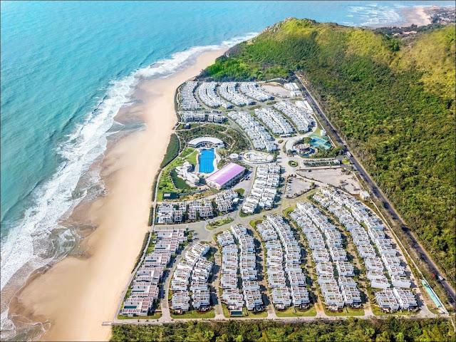 Sơ đồ mặt bằng biệt thự Oceanami Villas & Beach