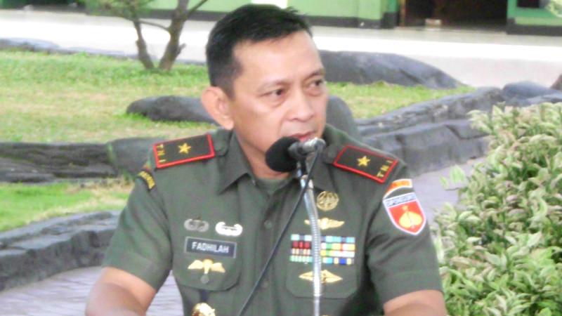 Kadispenad TNI Brigjen Sabrar Fadhilah