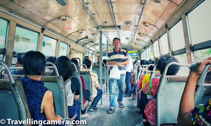 We took bus from Khao San Market to Chatuchak and it's a direct one. If you spend time in Chatuchak during the day and want to spend night at most exciting street of Bangkok, then you can get direct bus from here.     Related Blogpost - Birds of Ayuthhaya || 10-Day Vacation in Thailand (Day 4)