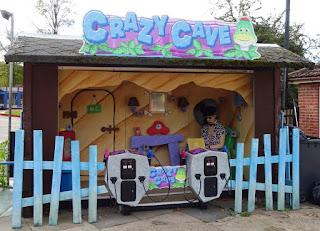 Crazy Cave Shooting Gallery at Playland Fun Park in Stourport on Severn