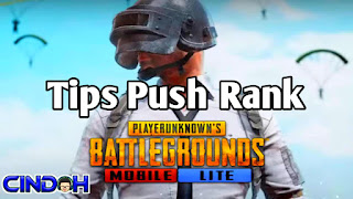 Tips push rank pubg mobile lite