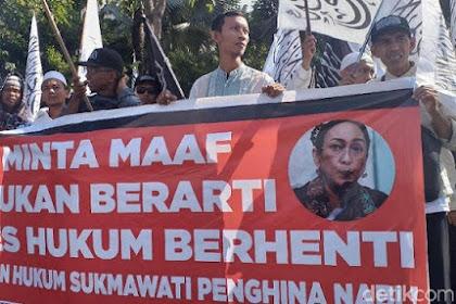 Warga Kampung Bung Karno Demo, Arek Suroboyo: Tangkap dan Adili Sukmawati