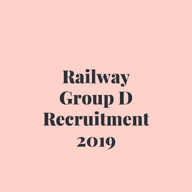 RRB GROUP D ADMIT CARD,EXAM DATE,RESULT:RRC 103769 VACANCY 2019