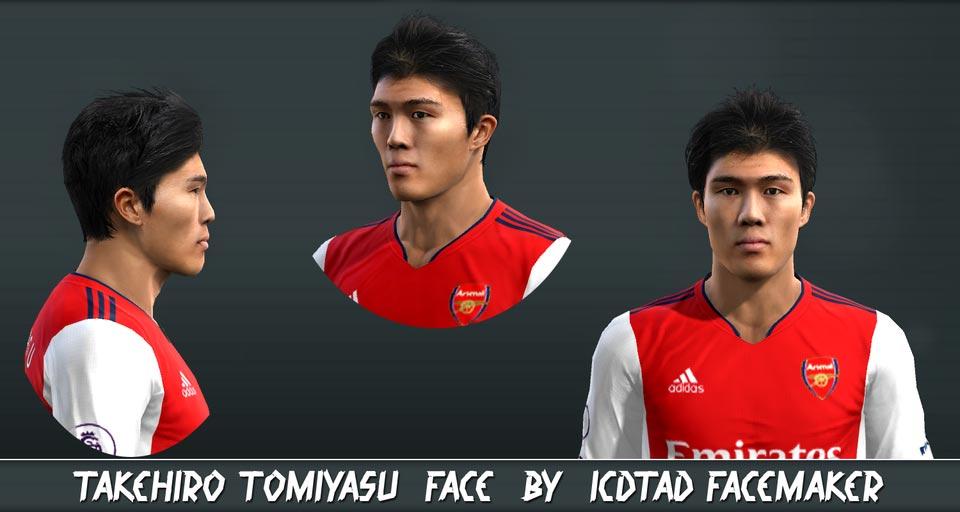 Faces Takehiro Tomiyasu For PES 2013