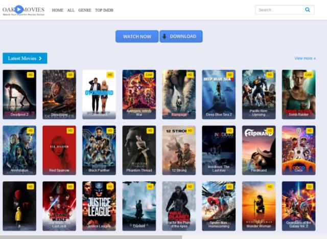 OAK Movies – Watch Free Movies Online