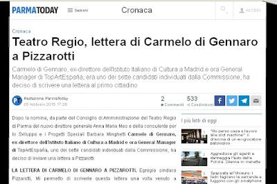 http://www.parmatoday.it/cronaca/teatro-regio-carmelo-di-gennaro-pizzarotti.html