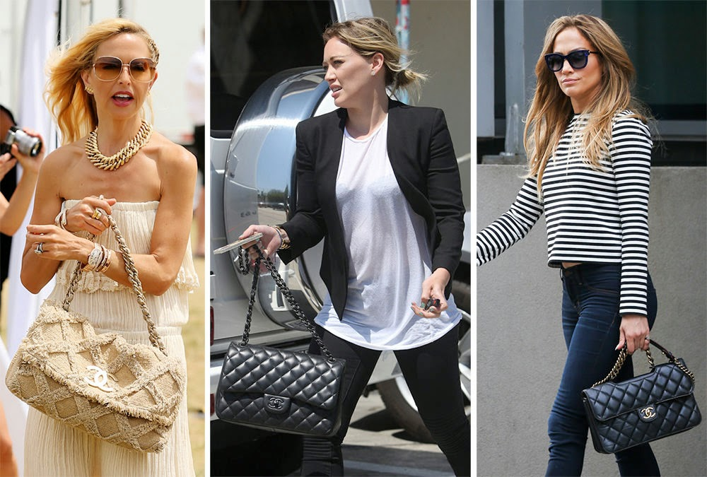 20 Celebrities With Perfect Chanel Bag Fifthand Fifthand