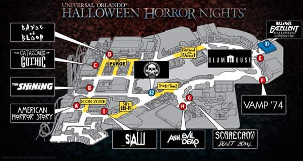 Could this be the map for Halloween Horror Nights 27? | Unofficial ...