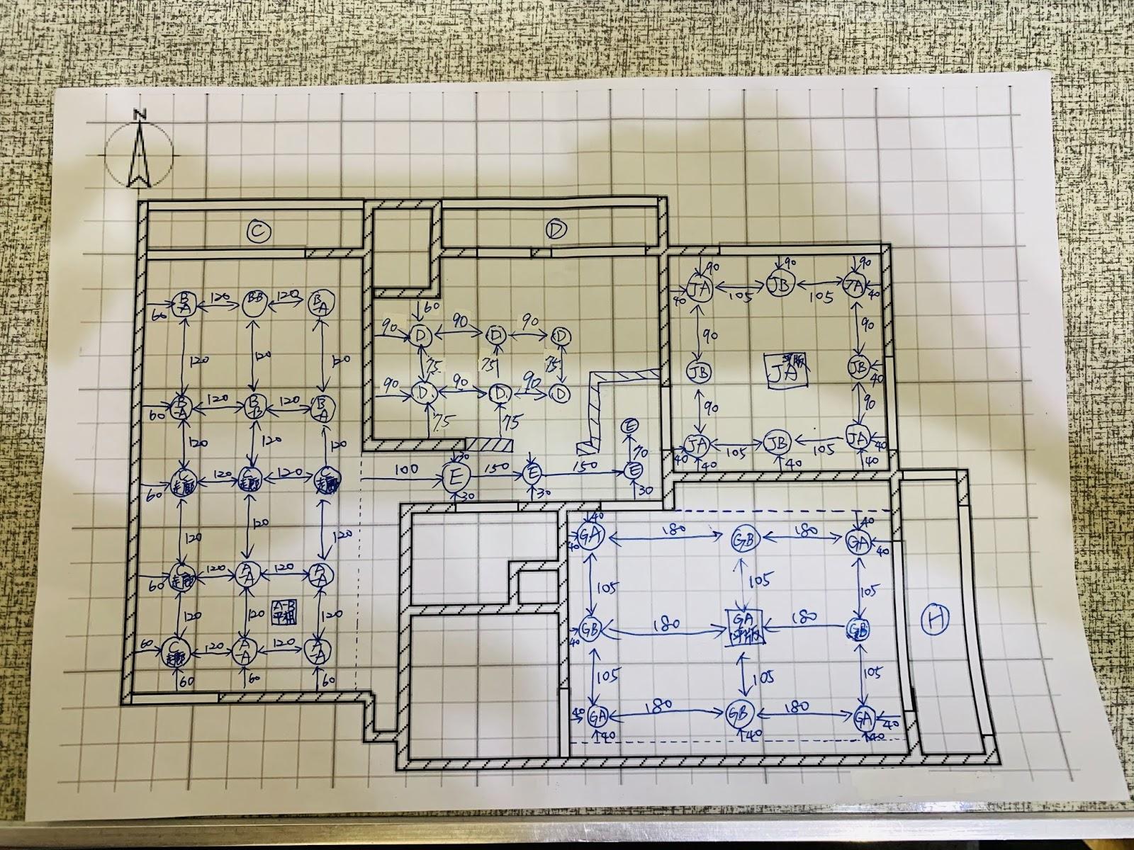 室內燈光配置圖
