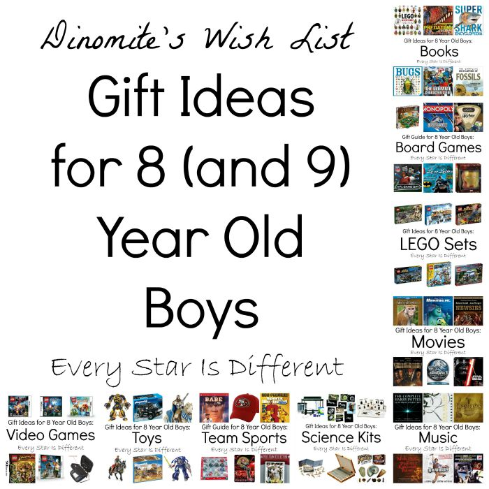 Gift Ideas For 8 And 9 Year Old Boys Dinomites Wish List